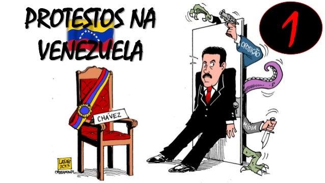 PROTESTOS NA VENEZUELA  1