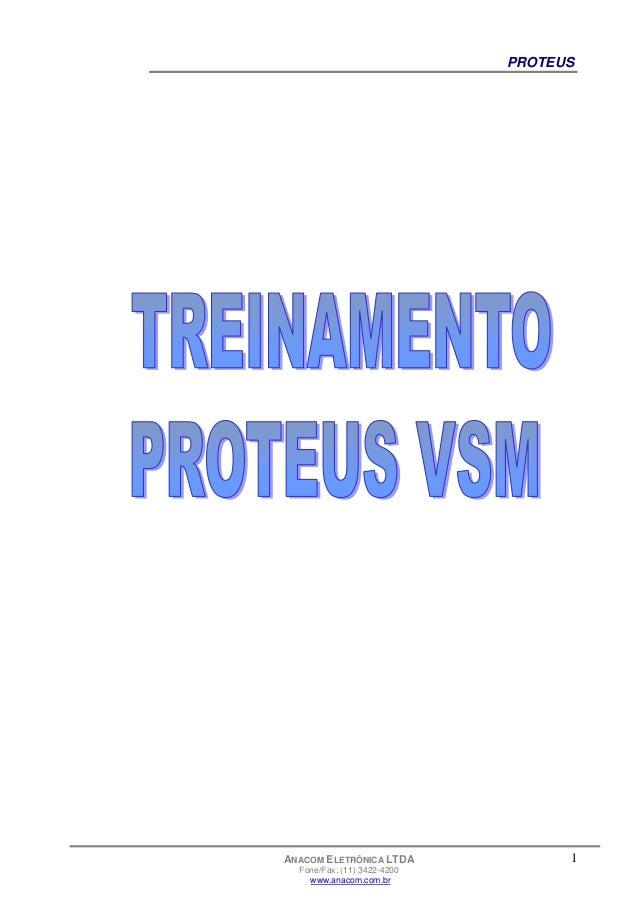 1 PROTEUS ANACOM ELETRÔNICA LTDA Fone/Fax: (11) 3422-4200 www.anacom.com.br