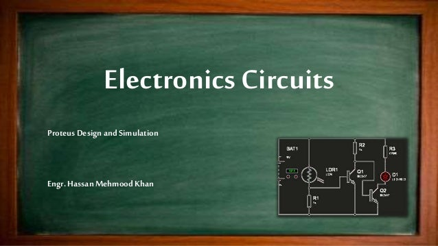 Proteus Circuits Design and Simulation - Examples and Projects