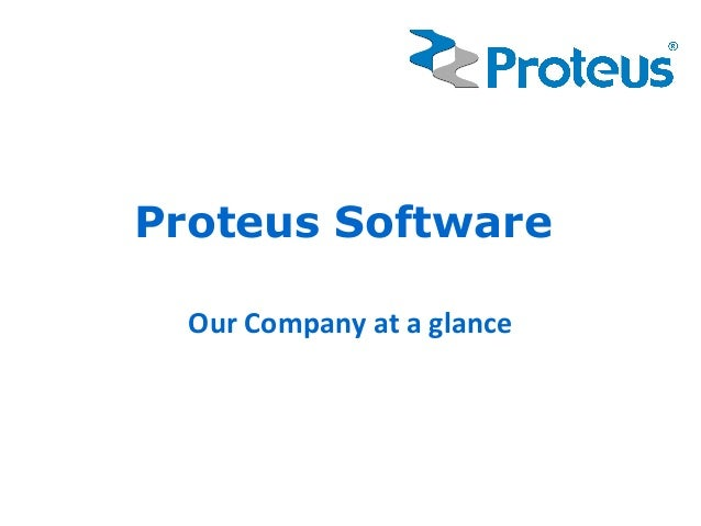 Proteus Software  Our Company at a glance