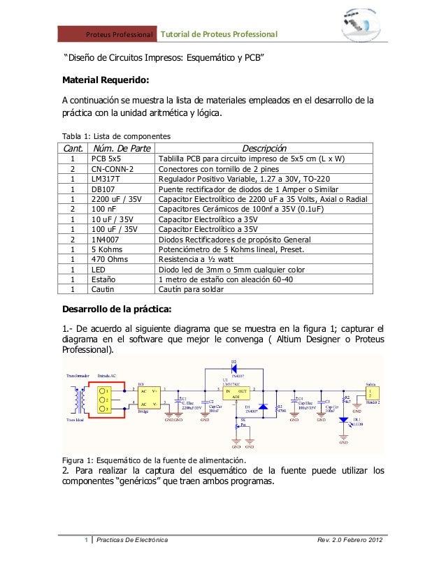"""!""""#$%&(!""""#)%*#+,-(( !""""#$%&()*+),%$#+""""-),%$.+--&$/())))((    """"Diseño de Circuitos Impresos: Esquemático y PCB""""Material Requ..."""