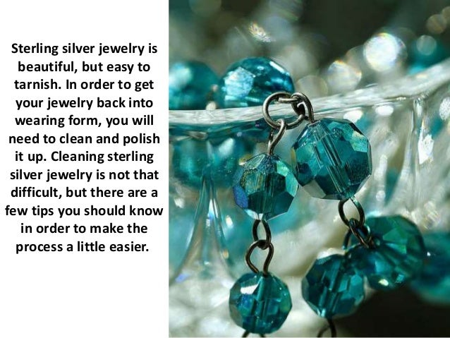 Pro tips for cleaning sterling silver jewelry for How do i clean sterling silver jewelry