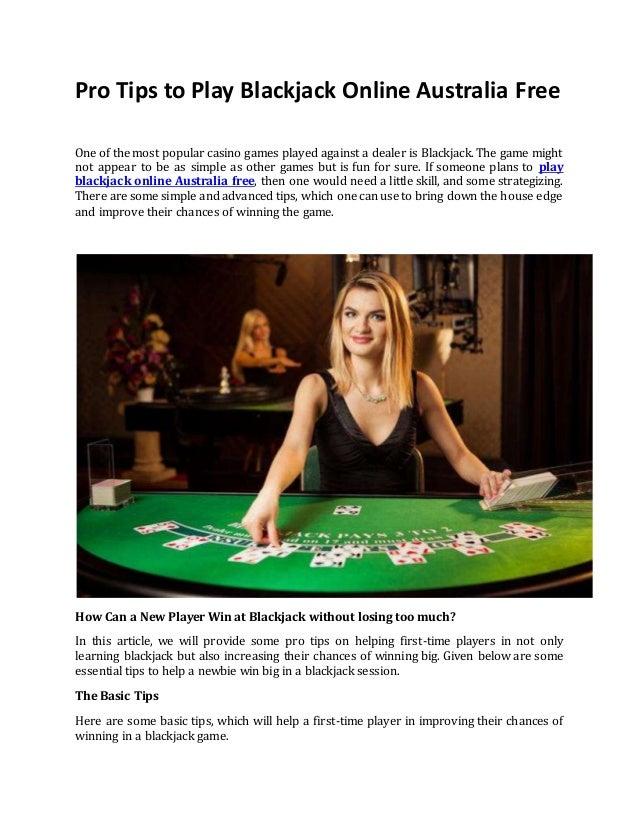 Pro Tips To Play Blackjack Online Australia Free