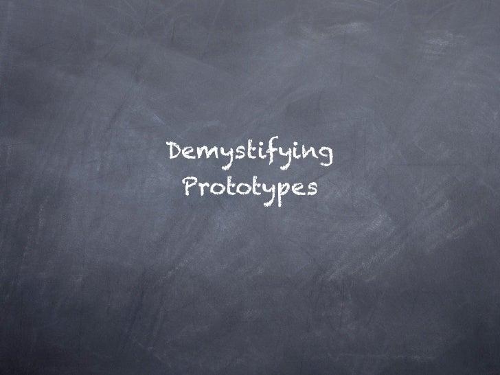 Demystifying Proto...........      types