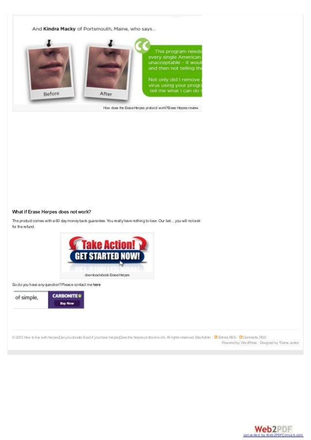 Does the herpes protocol work 1 shareshare 0 converted by web2pdfconvert 3 fandeluxe Images