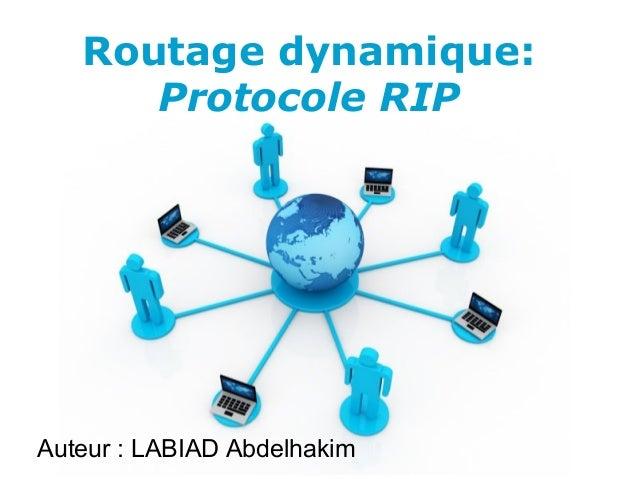 Pour plus de modèles : Modèles Powerpoint PPT gratuits Page 1 Free Powerpoint Templates Routage dynamique: Protocole RIP A...