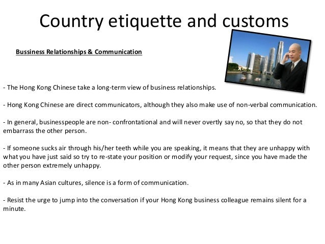 Protocol in other countries hong kong 20 country etiquette and customs bussiness relationships communication the hong kong reheart Choice Image
