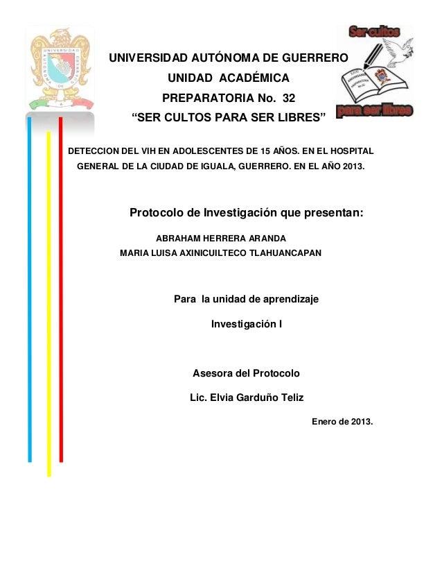 """UNIVERSIDAD AUTÓNOMA DE GUERRERO                   UNIDAD ACADÉMICA                  PREPARATORIA No. 32            """"SER C..."""