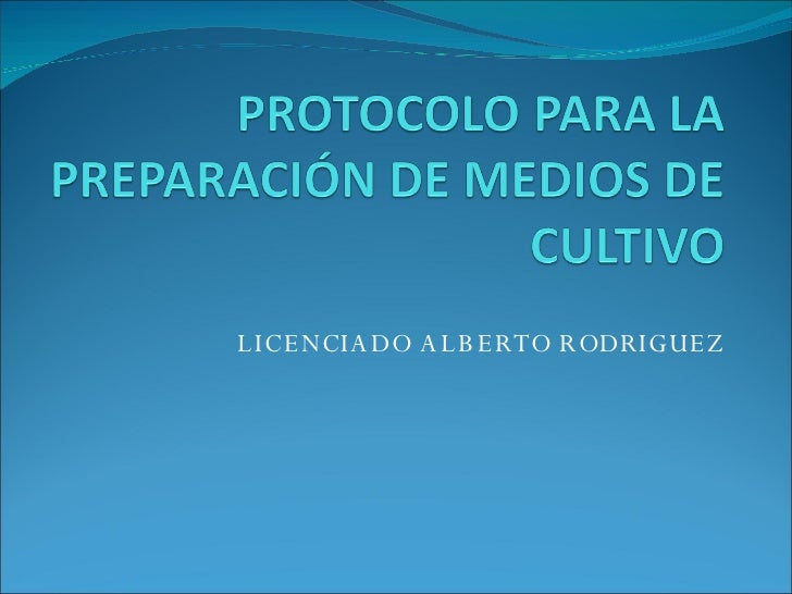 LICENCIADO ALBERTO RODRIGUEZ