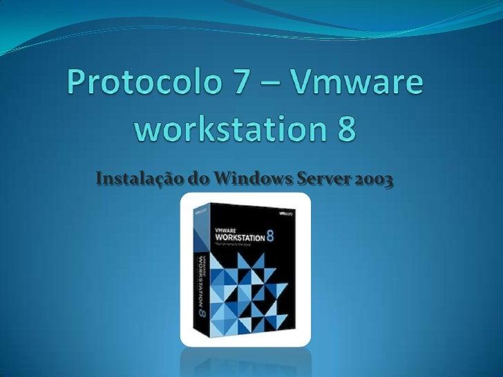 Instalação do Windows Server 2003