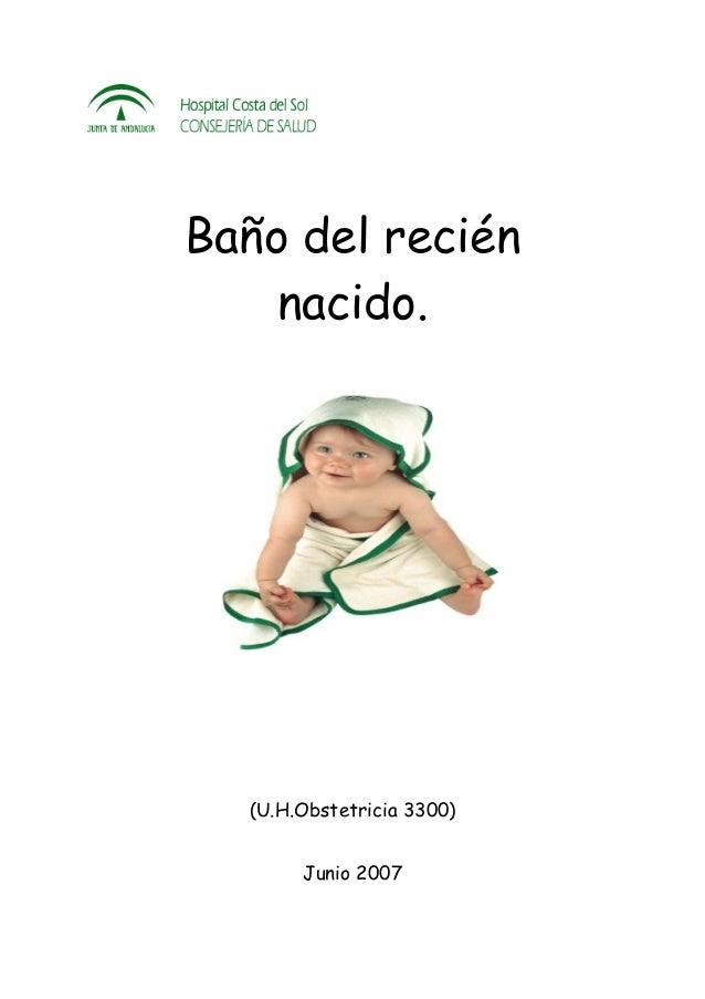 Protocolo ba o del bebe - Bano del recien nacido ...