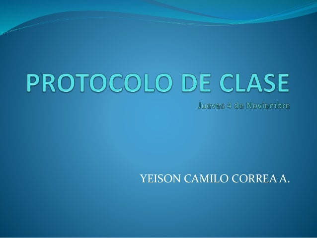 YEISON CAMILO CORREA A.