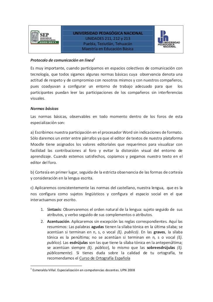UNIVERSIDAD PEDAGÓGICA NACIONAL                                    UNIDADES 211, 212 y 213                                ...