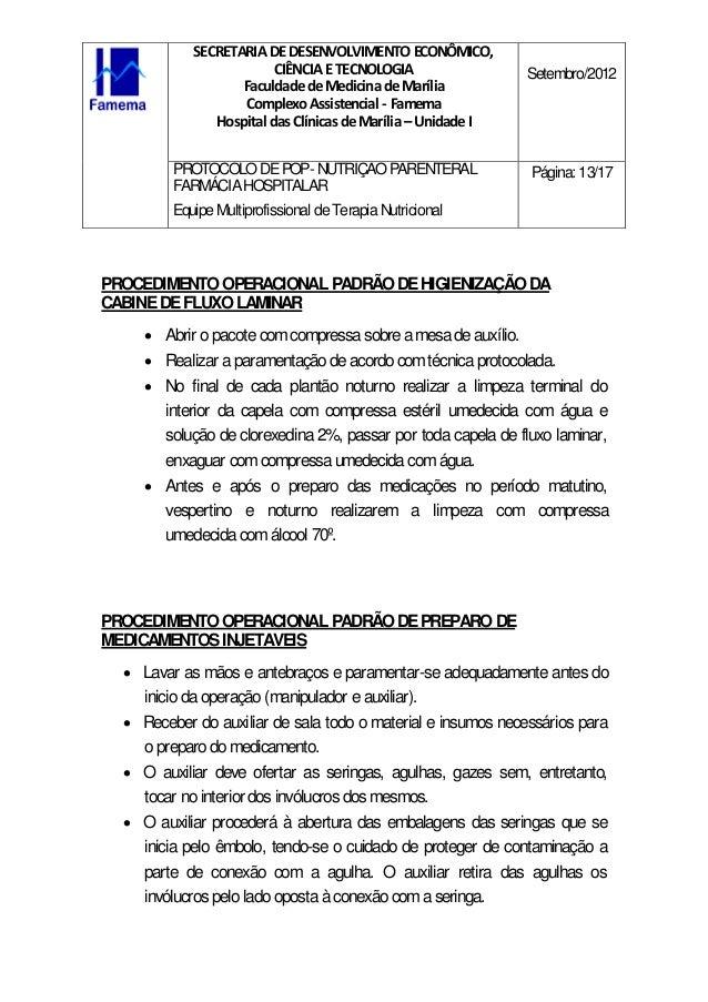 Protocolo de farm cia para nutri o parenteral pops for Protocolo pop