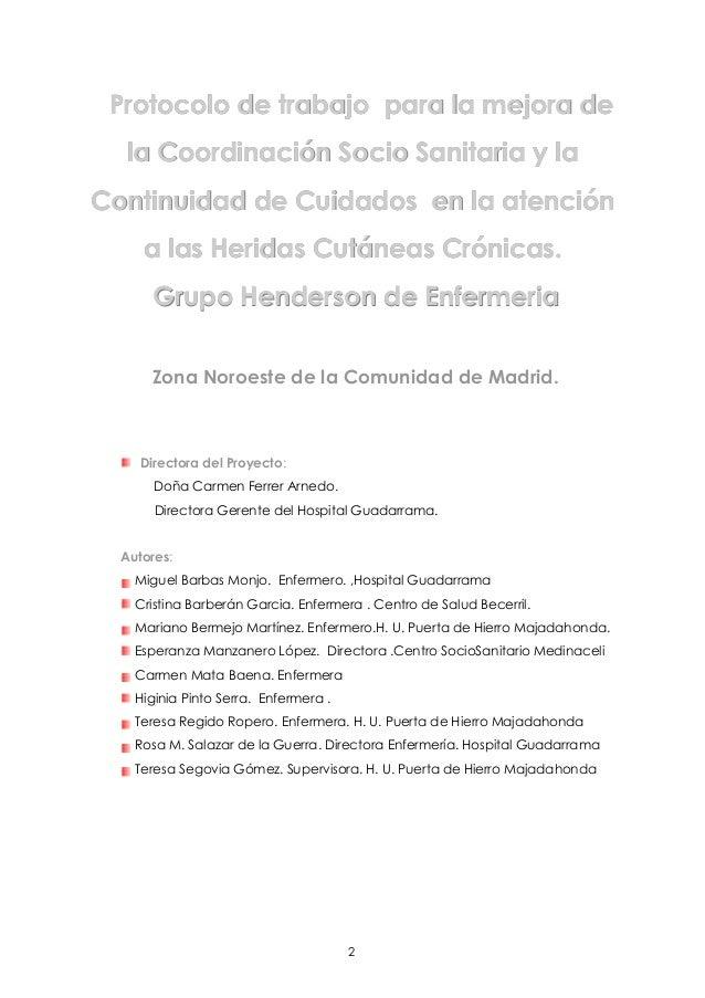 Protocolo de trabajo para la mejora de la coordinacion socio sanitari…