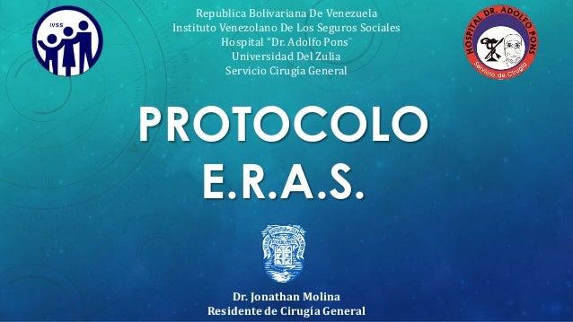 """Republica Bolivariana De Venezuela  Instituto Venezolano De Los Seguros Sociales  Hospital """"Dr. Adolfo Pons¨  Universidad ..."""
