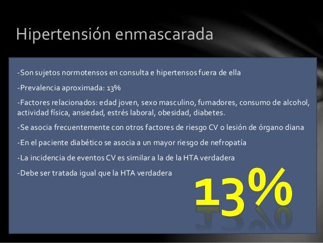 FACTORES DE RIESGO PRIMARIOS -Valores de presión arterial sistólica y diastólica -Tabaquismo -Dislipemia (elevación de LDL...