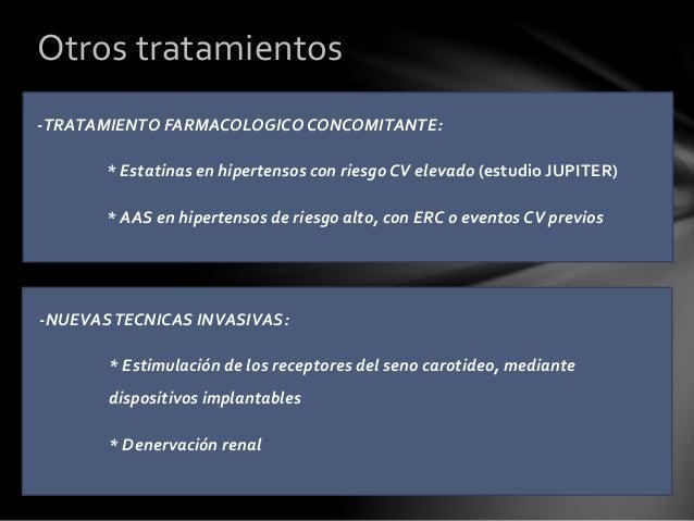 HIPERTENSION ENMASCARADA: -Es de difícil diagnóstico, ya que normalmente ante una PA normal en consulta no se realizan nue...