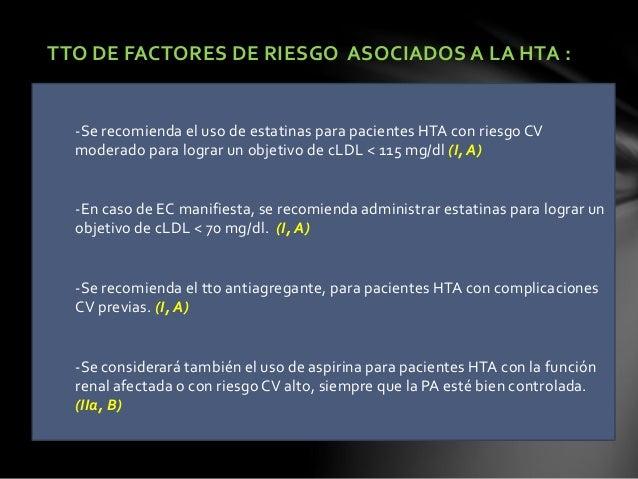 CRITERIOS DE DERIVACION A LA UNIDAD DE HTA: SOSPECHA DE HTA SECUNDARIA: -Pacientes jóvenes sin antecedentes familiares de ...