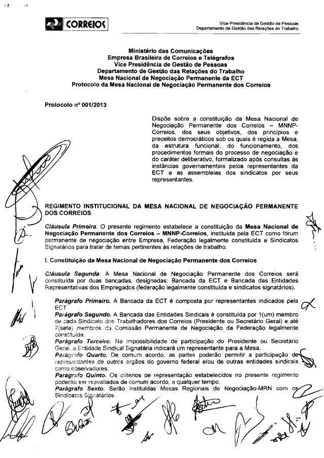 Protocolo mnnp correios assinado 27-11-2013