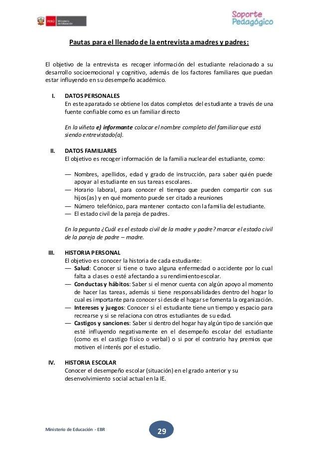 Protocolo Refuerzo Escolar 2016.