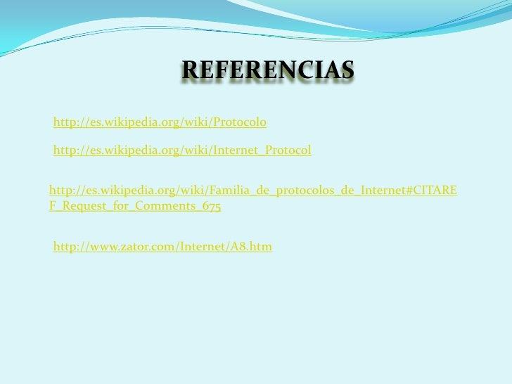 Protocolo Y USABILIDAD EN INTERNET