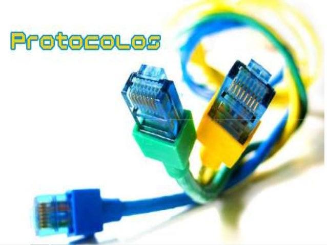 DEFINICIÓN •  En informática, un protocolo es un conjunto de reglas usadas por computadoras para comunicarse unas con otra...