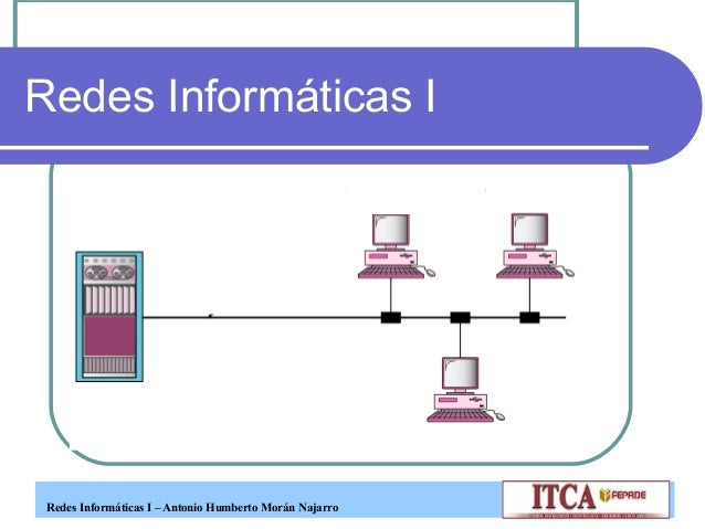 Redes Informáticas I – Antonio Humberto Morán NajarroRedes Informáticas I