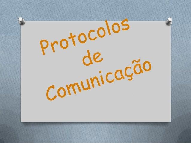 TCP:(Transmission Control Protocol); Protocolo de controlo transmissão Controla a ligação e comunicação; Protocolo que def...