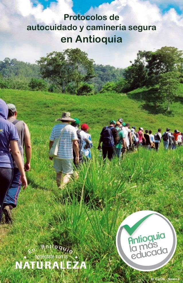 Protocolos de autocuidado y caminería segura en Antioquia El Carlos - Necoclí