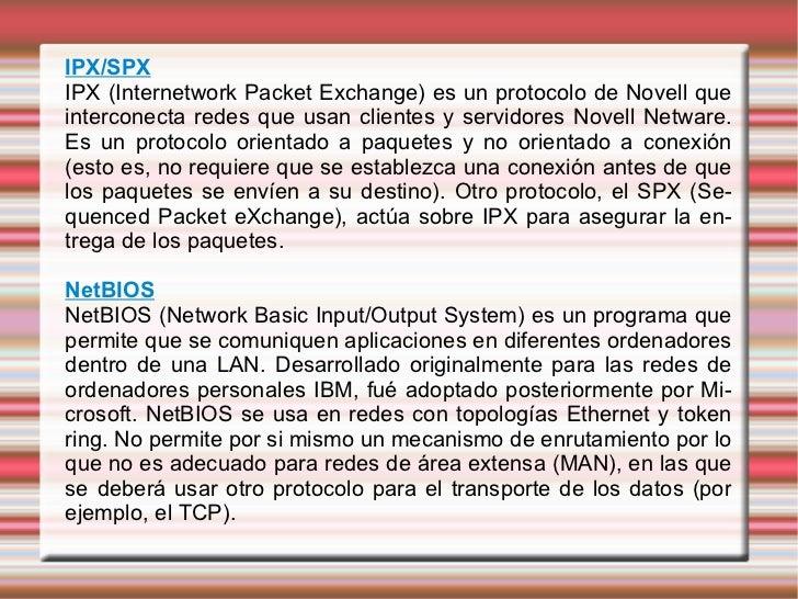 PrOtOcOlOs De ReD Slide 2