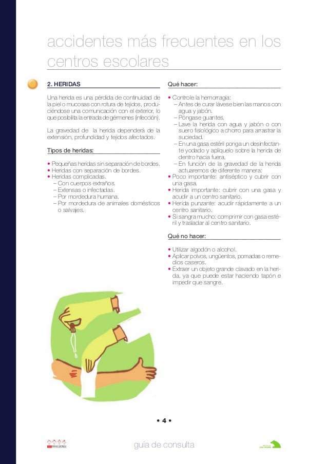 2. HERIDAS Una herida es una pérdida de continuidad de la piel o mucosas con rotura de tejidos, produ- ciéndose una comuni...