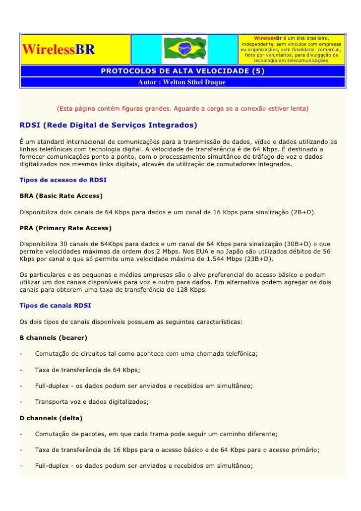 WirelessBr é um site brasileiro,                                                                          independente, se...