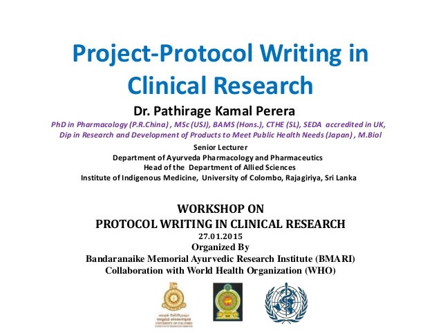 writing about clinical research