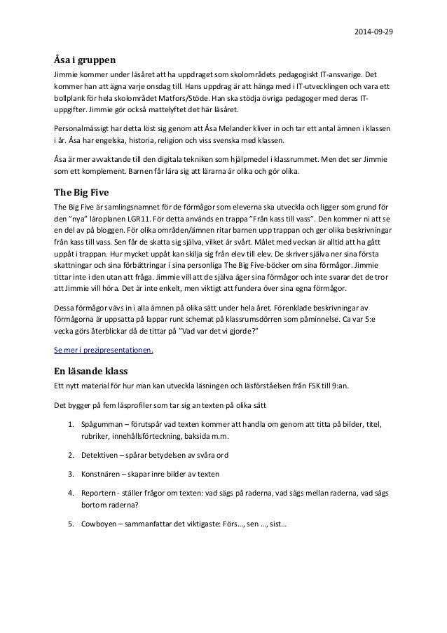 Protokoll från föräldramöte för klass 4 b Slide 2