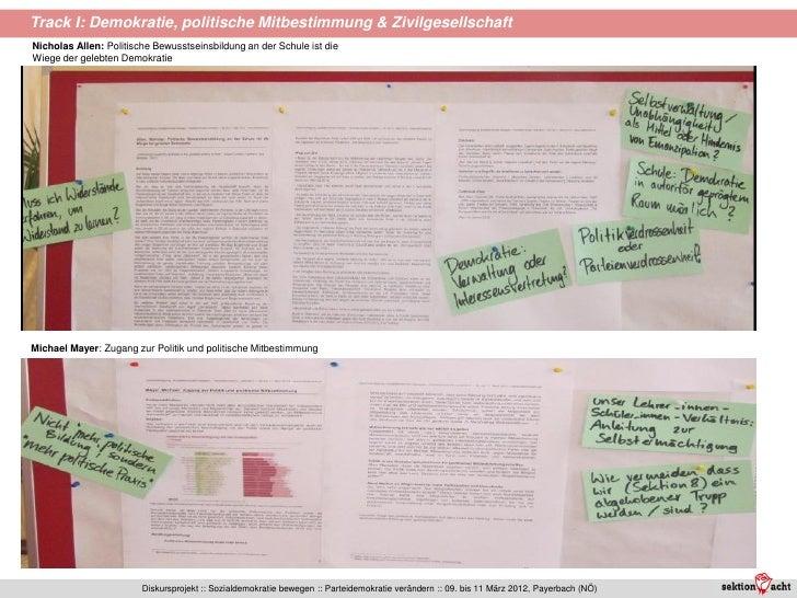 Track I: Demokratie, politische Mitbestimmung & ZivilgesellschaftNicholas Allen: Politische Bewusstseinsbildung an der Sch...