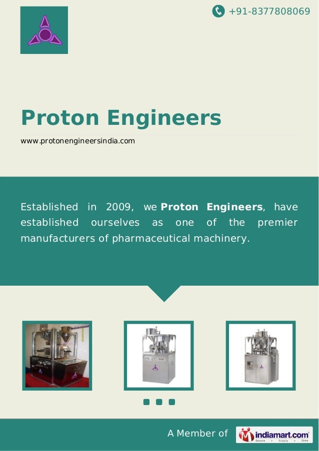 +91-8377808069  Proton Engineers www.protonengineersindia.com  Established in 2009, we Proton Engineers, have established ...