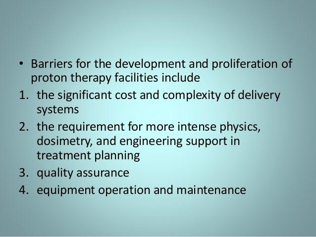 Proton therapy seminar