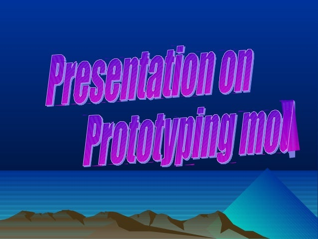  PPT on Prototyping Model by - Krishna Bangwal