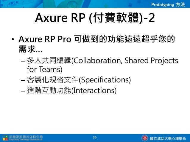 Axure Prototype Testing for Mobile                37