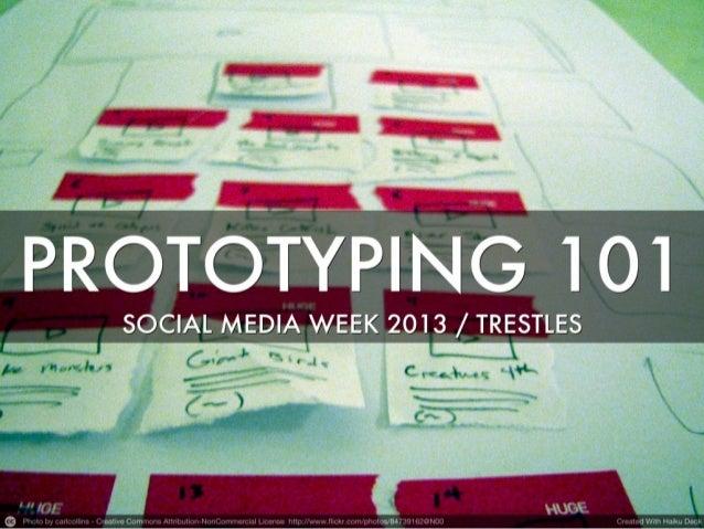 Prototyping 101