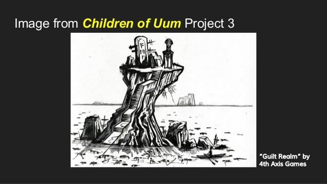 """Image from Children of Uum Project 3 """"Guilt Realm"""" by 4th Axis Games"""