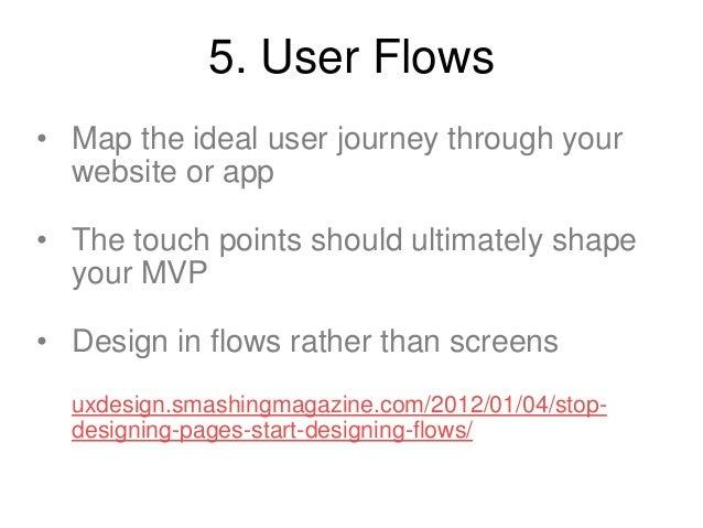 Example User Flow