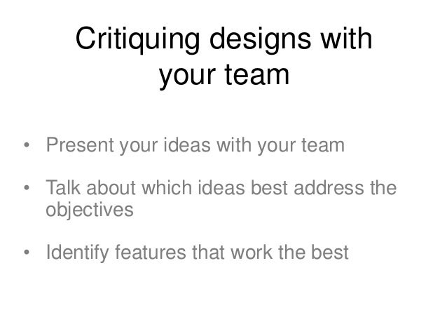 Round 2 • 4 more interface sketches in 5 minutes • Slightly more refined than before • Review sketches with your team