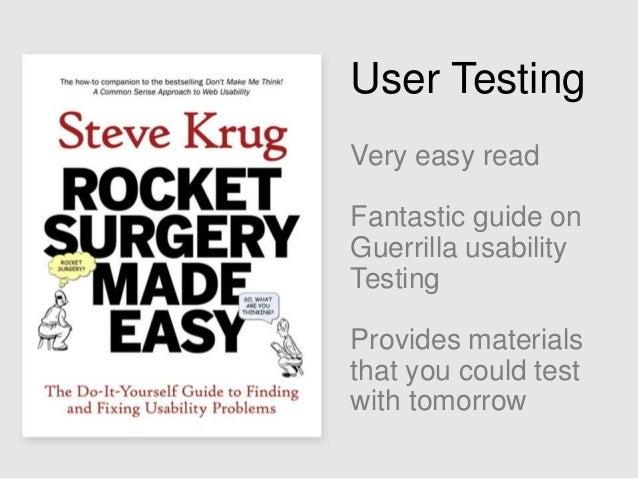 Steve Krug Test Script Usability test script available for download:  http://www.sensible.co m/downloads/testscript.doc