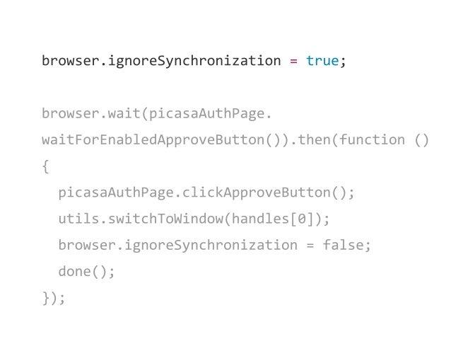 Solution 1 Use sharding configuration for running several browser instances