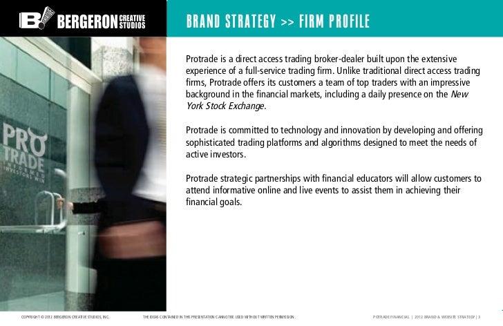 Protrade Financial Creative Presentation Slide 3