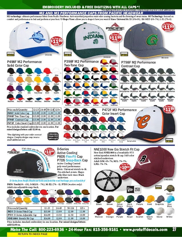 6d92d69fb9d Protuff Decals Baseball Catalog 2019