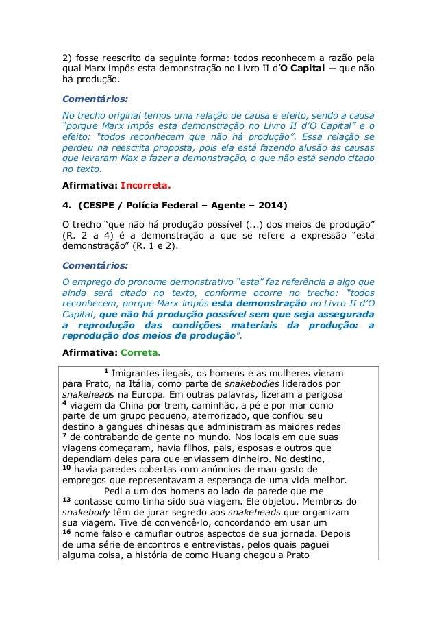 c207d92a93 Prova Comentada Agente Polícia Federal (2014)