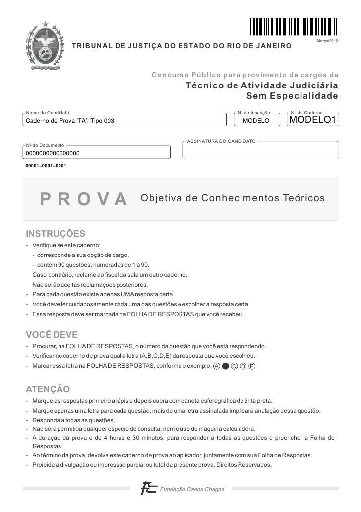 Março/2012                    TRIBUNAL DE JUSTIÇA DO ESTADO DO RIO DE JANEIRO                                             ...